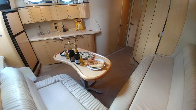 SeaRay Yacht interior