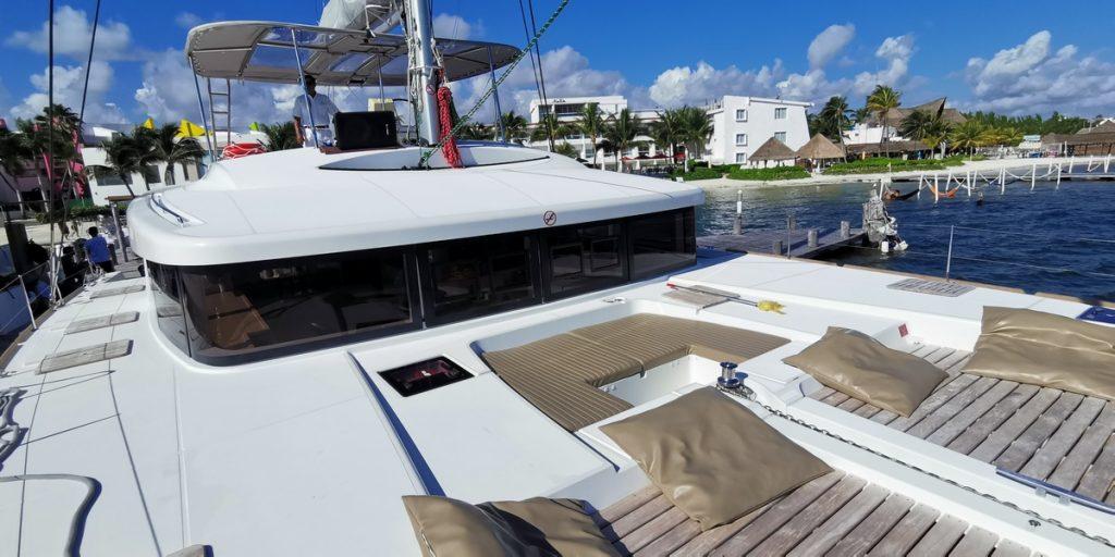 Catamaran with DJ