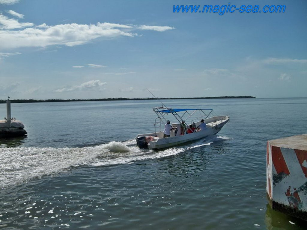 Holbox boat