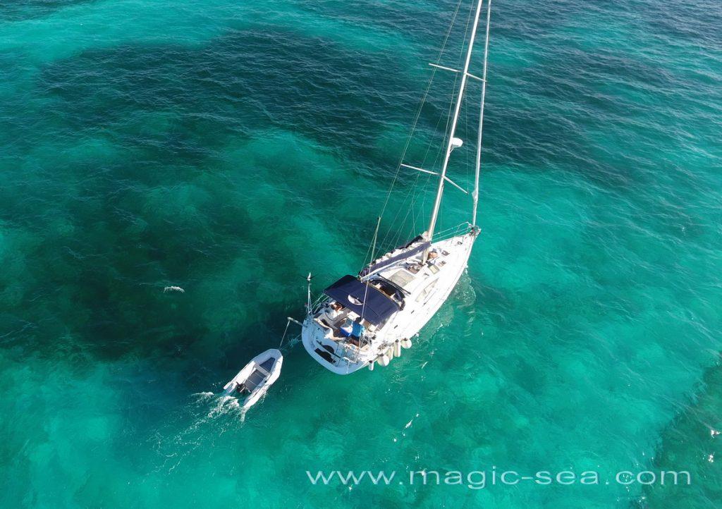Sailboat to Isla Contoy