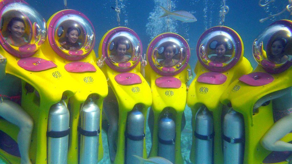 BOB personal submarine