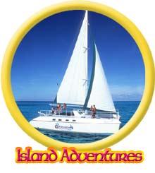 Island catamaran adventure