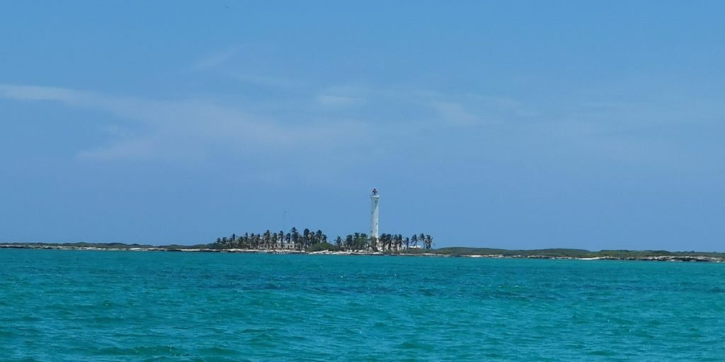 Isla Contoy lighthouse