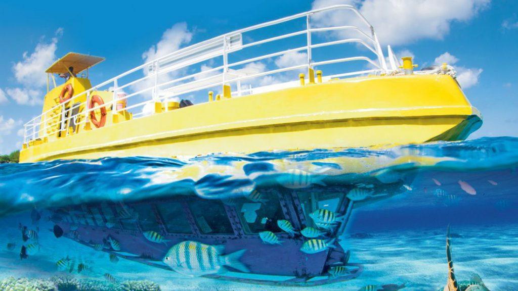 Submarine Glass Bottom