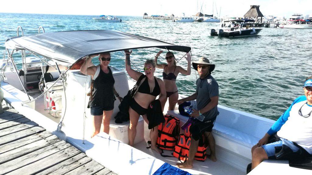 whale shark boat