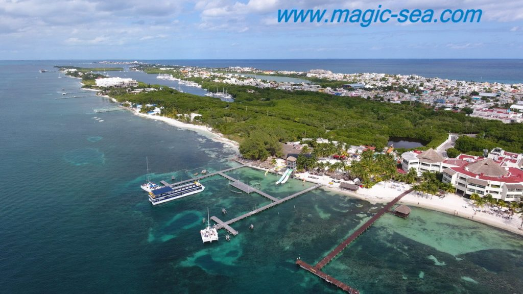 south of Island beach