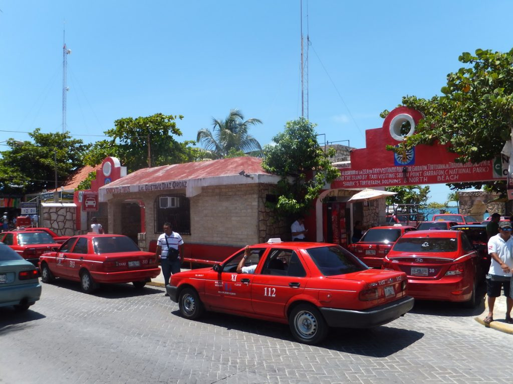 Taxis at Island