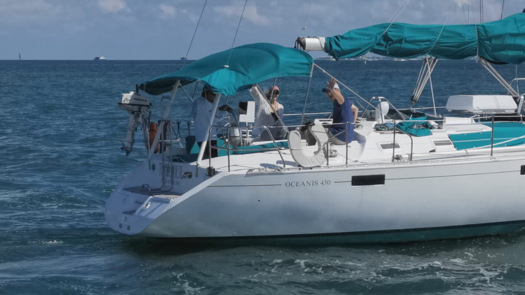 Sailing Beneteau