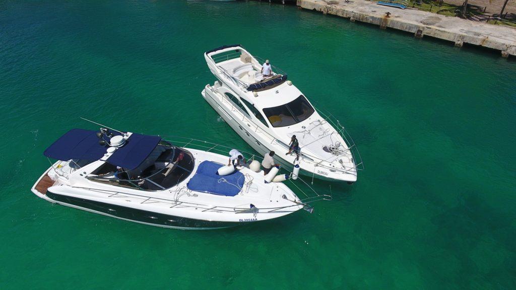 Azimut yacht rent costa mujeres