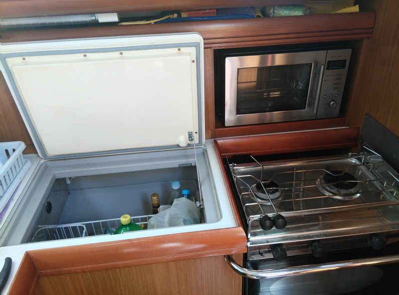 Sailboat freezer